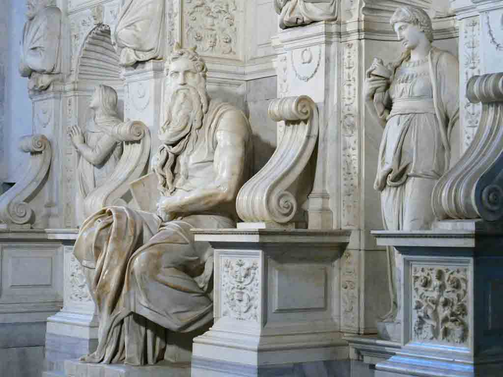 Michelangelo s-MOSES-in-Rome