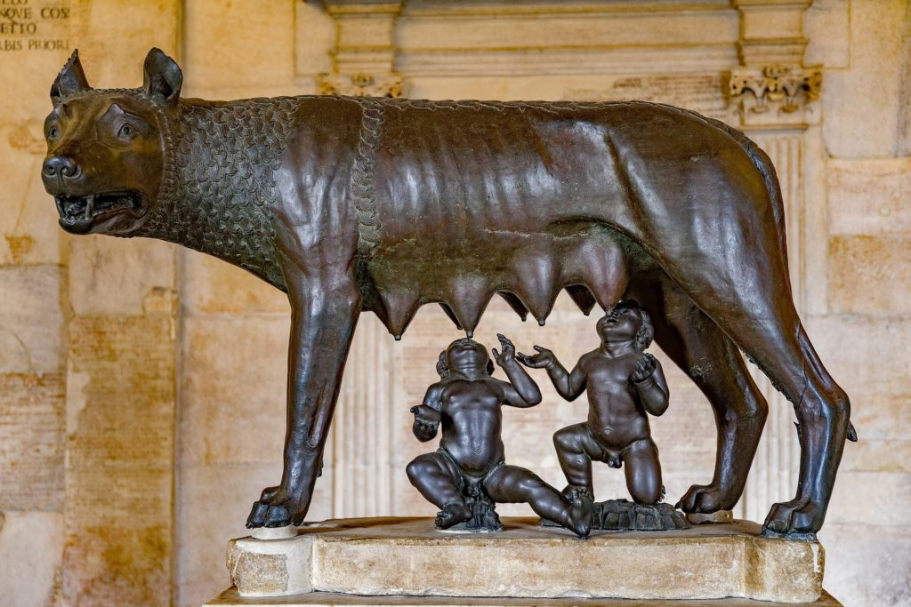 she wolf why is rome called the eternal city