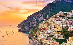 7 Day Rome Campania Menu Image