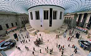 the ground floor of the British Museum.