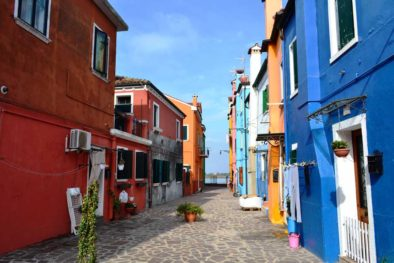 tour the charming and colorful town of Murano with your guide.