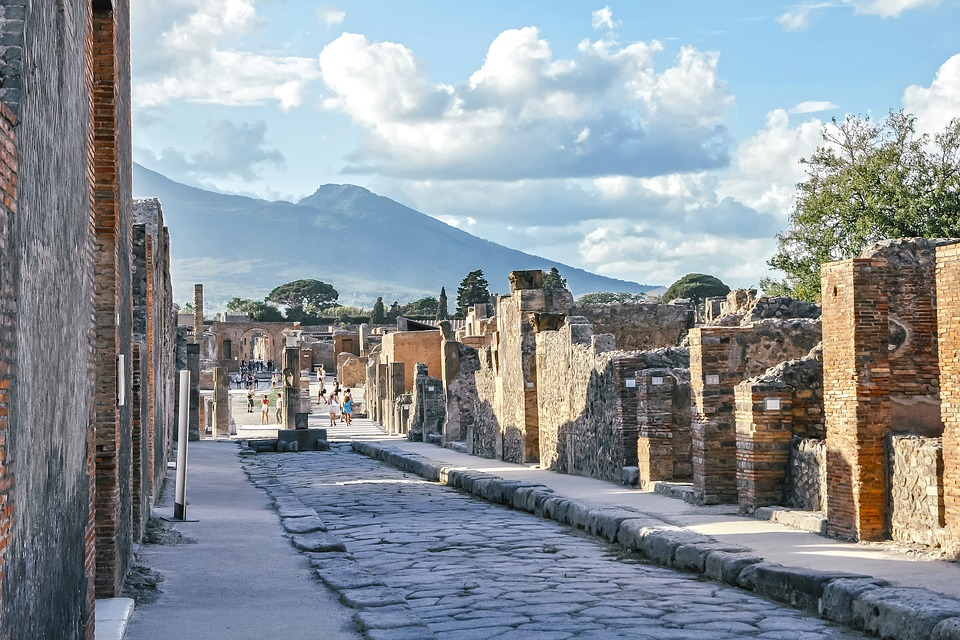 Walk among the ruins in the preserved city of Pompeii with your private guide.