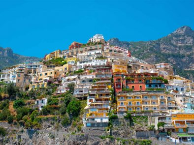 the colorful cliffside towns on the Amalfi Coast with your private driver.