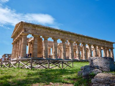 Tour of the remarkably well preserved Paestum.