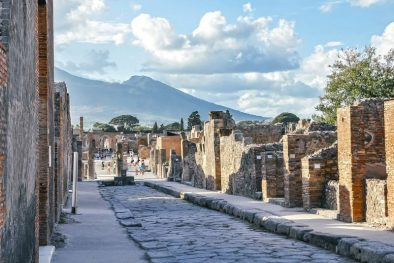 Your guide reveals the history and stories of the fateful day Vesuvius erupted on your private tour of pompeii