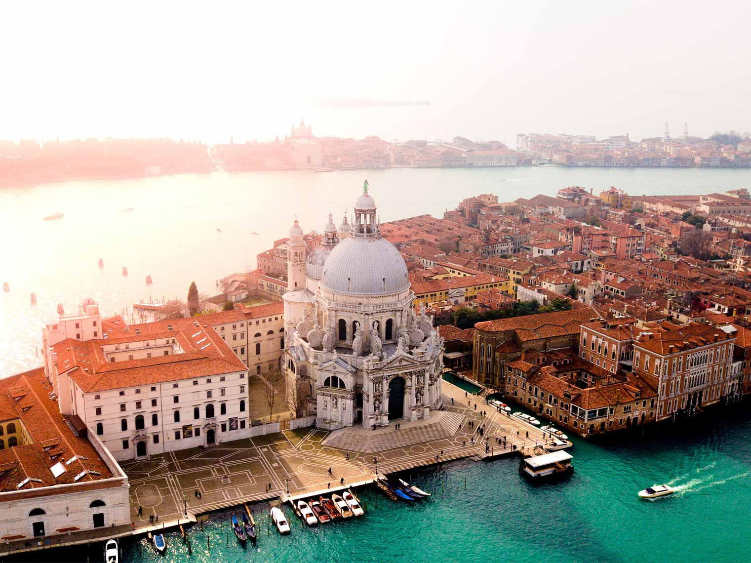 Venice looking gorgeous in the sun.