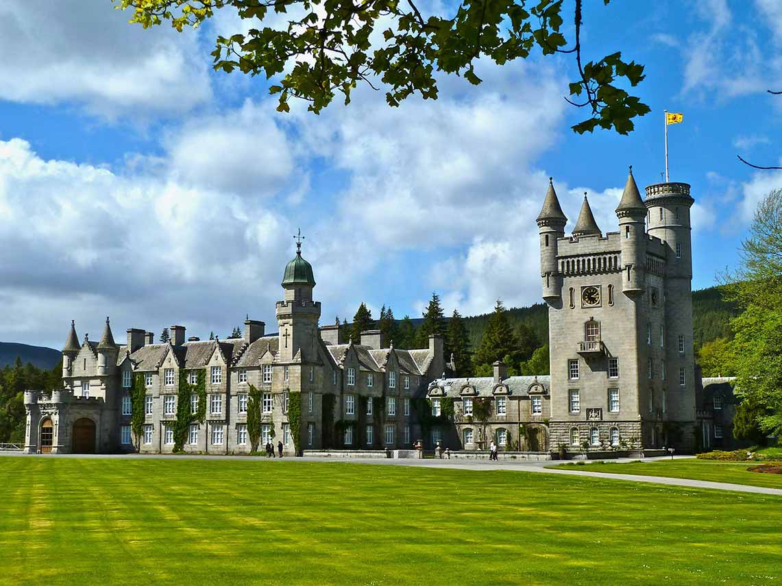 The queens residence in scotland balmoral castle tour.