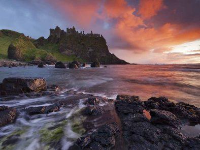 Visit Dunluce castle the location of Pyke Castle of House Greyjoy