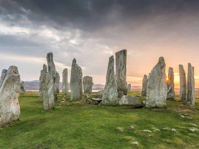 Visit the standing stones from outlander on your tour of scotland.