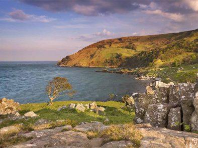 Game of thrones filming location Murlough Bay in Ireland