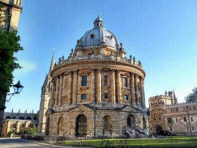 Oxford University used for Harry Potter filming locations on your tour.