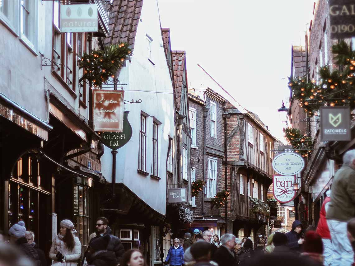 visit the town of York on your tour of England.